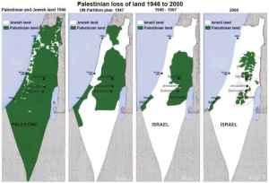 landkarten-palaestina-israel
