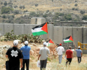 Demonstration in Ni'lin, Palästina
