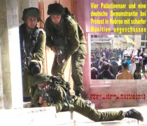 Hebron-angeschossen