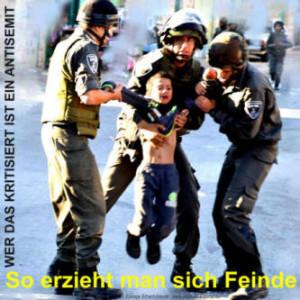 Israelische Soldaten foltern ein palästinensisches Kind
