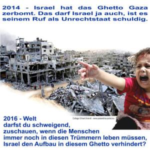 Gaza-WeltSchweigt